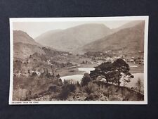 Vintage RPPC: Cumberland: #T21: Grasmere From Fir Crag