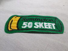 Remington Skeet Shotgun Shooting Patch 50