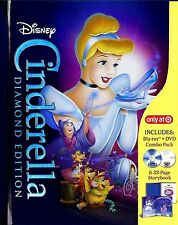 CINDERELLA - DISNEY TARGET EXCLUSIVE LIMITED EDITION 32-PAGE DIGIBOOK BLU-RAY