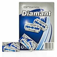 Croma Diamant doble filo (DE) Razorblade - 100 Hojas