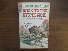 Back To The Stone Age Edgar Rice Burroughs Ace F 245 Sci Fi VG-