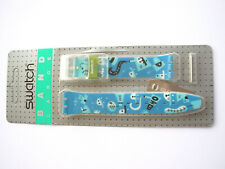 SWATCH Strap x MUSICALL RUNNING TIME  - SLK107- 1996 - new CINTURINO PLASTIC