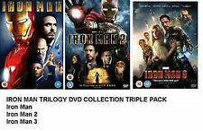 IRON MAN TRILOGY DVD TRIPLE PACK PART 1 2 3 BRAND NEW AND SEALED UK R2 DVD