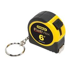 Stanley 6 Feet Compact Size Keychain Tape Rule Measure FMHT33706M New