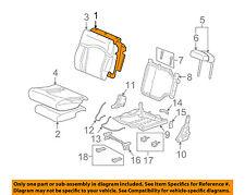 Hummer GM OEM 03-07 H2 Third Row Seat-Seat Back Pad 88940355