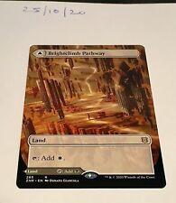 Magic the Gathering MTG Brightclimb Pathway / Grimclimb Rare Full Art Card NM/M