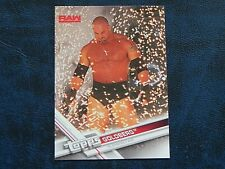 2017 Topps WWE 18 Goldberg Superstar RAW