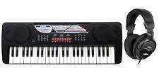 PIANO NUMERIQUE E-PIANO CLAVIER 49 TOUCHES POUR DEBUTANTS 16 SONS CASQUES SET