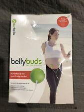 Bellybuds Belly Baby Bump Prenatal Pregnancy Audio Stereo Speakers Headphones