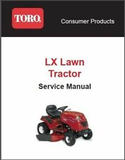 toro xl lawn tractor factory service repair manual