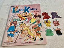 Liddle Kiddles 1967 Paper Dolls Complete