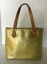 Louis vuitton Vernis Houston Handbag TH0011 Authenticity Verified