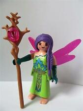 Playmobil Palace/fairytale extra figure: Woodland fairy with magic staff NEW