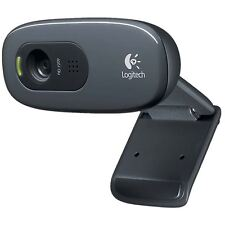 Logitech Webcam USB 2.0 3 MPixel 720p Black (960-001063)