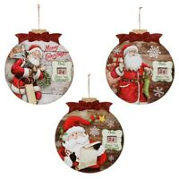 Countdown to Christmas Baubles Christmas Decoration Wall Plaques  -327166