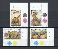 TIMBRE STAMP 4 ILE ANTIGUA Y&T#1425-28 DINOSAURES NEUF**/MNH-MINT 1992 ~B84