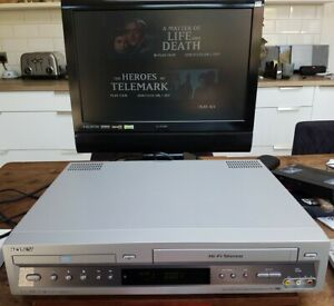 Sony SLV-D900 DVD Player/Video Cassette Recorder & Remote - Spares or Repair