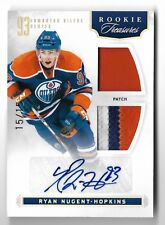 2011-12 Panini Rookie Anthology #103 RYAN NUGENT HOPKINS Patch Autograph #15/15