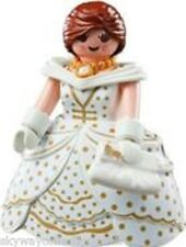 Rare Playmobil figure -Victorian Queen in White & Gold. Wedding ,Pride .NEW.