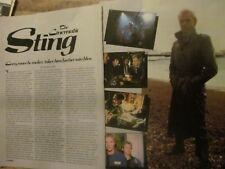 The Police, Sting, Two Page Vintage Clipping