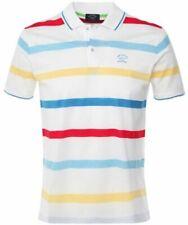 Camicie casual e maglie da uomo bianche marca Paul & Shark in cotone