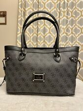 NEW Large Black GUESS Purse Handbag With Handles