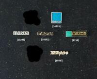 MAZDA Anstecknadeln + Pin, stick pins 1980er - 1990er Jahre  AUSSUCHEN