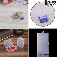 Small Plastic Clear Transparent Container Case Storage Box Organizer Tools