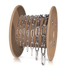 lfm 6mm Rundstahlkette Eisenkette langgliedrig verzinkt
