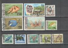 S8820 - TANZANIA - LOTTO 11 TEMATICI DIFFERENTI - VEDI FOTO