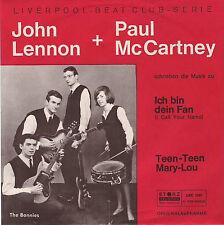 CCA STORZ LBC 1001 The Bonnies - Rare German Beat Single - 1964 - Unplayed MINT-