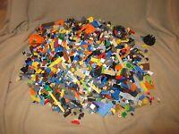 Bulk Lot of 9 Pounds lbs LEGO pieces Star Wars City Ninjago Space lbs MX3