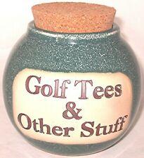 Golf Gift Money Jar PGA Caddy Golfing Word Bank