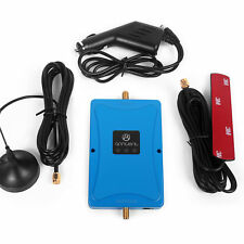 2100MHz  3G 4G LTE 45dB Mobile Repeater Booster + Antenna for Car Truck RV