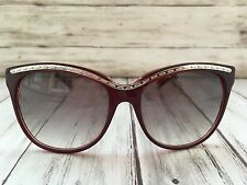 TRUSSARDI TR12846 PU Eyeglasses Wayfarer Sonnenbrille Damen + 77