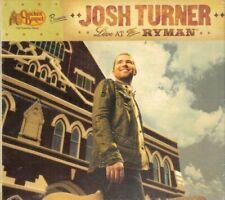 Cracker Barrel Presents: Josh Turner - Live At The Ryman Limited Edition, CD, Li