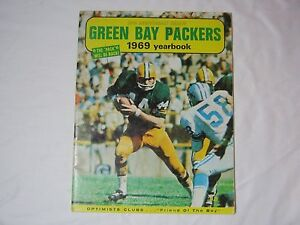 1969 VINTAGE GREEN BAY PACKERS FOOTBALL NFL 50TH ANNIVERSARY YEARBOOK      T*