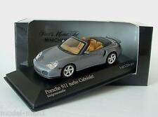 Minichamps 1/43 Porsche 911 Turbo Cabrio 996 2003 Grey Metallic 400 062731
