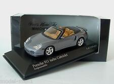 Minichamps 1/43 Porsche 911 Turbo Cabrio 996 2003 Grey Metallic 400 062731