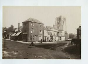 Beccles Market Place - Loades Bicycles Self Poll 1894 Photo Frith