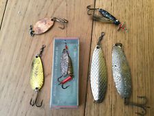 GROUP OF VINTAGE ABU FISHING LURES .