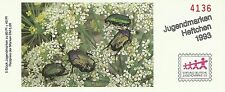 Allemagne Germany Insecte Cetoine Scarabee Goldsmith Beetle Käfer ** 1993 Carnet