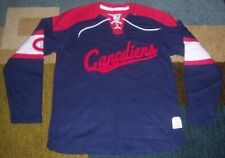 AUTHENTIC Vintage-Style CCM MONTREAL CANADIENS Heavy/Stitched THROWBACK JERSEY M