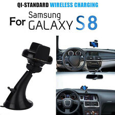 360° Qi Wireless Car Charger Transmitter Holder For Samsung Galaxy S8 S7 Edge S6