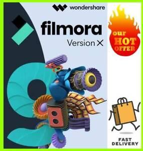 Wondershare Filmora 10 Full Version ✅ For Windows & MAC Fast Delivery 📩