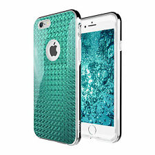 iPhone 7 7 Plus 6s SE Case for Apple Zuslab X Bumper Cover Tempered Glass Screen iPhone 6 Aqua