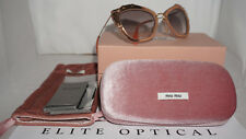 MIU MIU Sunglasses New Matte Pink Grey Gradation MU048QS TV14K0 55 140