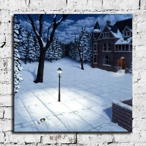 """24x24"""" Rob Gonsalves """"White Blankets"""" HD print on canvas large size wall picture"""