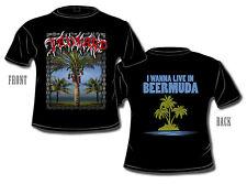TANKARD - Life On Beermuda - T-Shirt - Plus Size XXXXXL - 5XL - Neu - Übergöße
