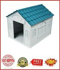 Dog Kennel For Medium Dogs Outdoor Pet Insulated Cabin House Big Shelter